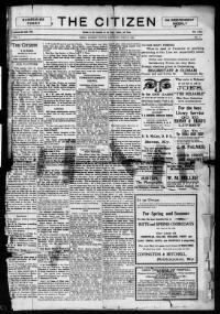 MADISON COUNTY, Kentucky - Berea - 1899-1922 - The Citizen.  « Chronicling America « Library of Congress