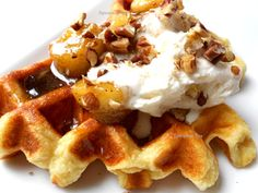 Bananas Foster & Waffles. This recipe will astound you!