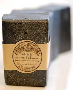 Natural Acne Treatment Bar- Charcoal Soap Bar, With Tea Tree Lavender Dead Sea Mud -Limited Edition. $6.50, via Etsy.