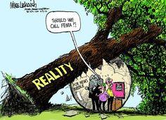 ... political cartoons
