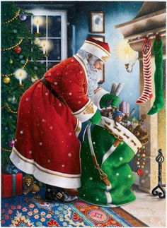 Lynn Bywaters-filling the stockings