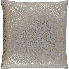 Marlo Lorenz Grey Spotted Cushion 50x50
