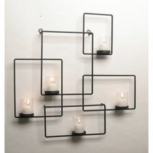 Walmart: Danya B Puzzle Wall Candle Holder