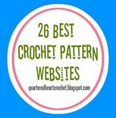 Quartered Heart Crochet: 26 Best Free Crochet Pattern Websites