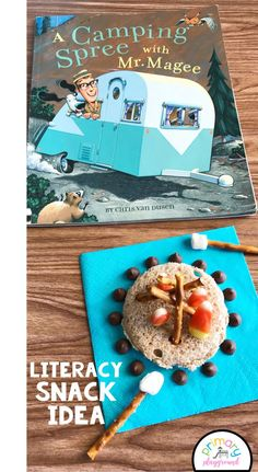 44 Ideas Camping Theme Classroom Snacks For 2019 Camping Snacks, Camping Theme Crafts, Camping Games Kids, Camping Books, Preschool Camping Theme, Classroom Camping Theme, Superhero Preschool, Camping Stove, Camping Gear