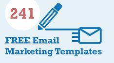 Free Email Marketing, Templates, Stencils, Vorlage, Models