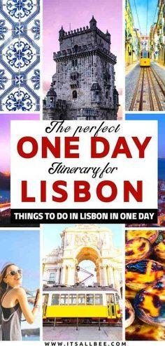 Need tips on what to see in Lisbon in one day? The perfect itinerary for things to do in Lisbon in one day. From Alfama to Belem and everything in between the Portuguese capitals. Portugal Travel Guide, Europe Travel Guide, Travel Destinations, Best Travel Guides, Travel Advice, Travel Ideas, Algarve, Spain And Portugal, Lisbon Portugal