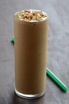 healthy + delicious homemade shake