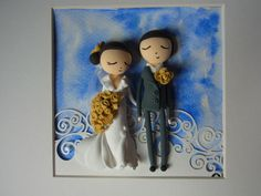 JumpingClay wedding frame