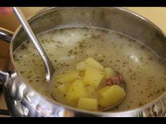 Kartoflanka zalewajka szybka zupa z wędzonką lub bez