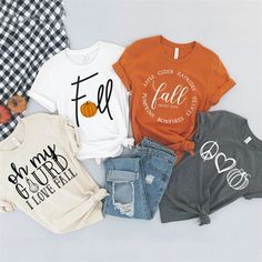 Confessions of a Frugal Mind: Favorite Fall Graphic Tees $14.99 Autumn T Shirts, Vinyl Shirts, T Shirt Diy, Graphic Tee Shirts, Personalized T Shirts, Custom T, Cute Shirts, Work Shirts, Diy Clothes