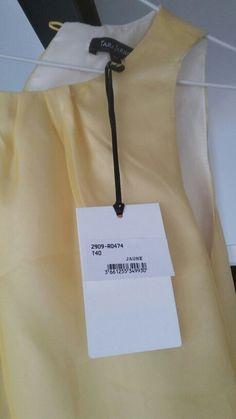 Robe jaune tara jarmon