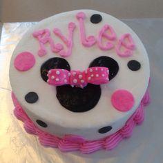 Minnie Mouse smash cake 1/25/15