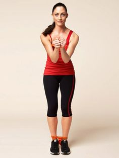 The Double Butterfly exercise works your shoulders, arms, chest, butt, and legs.