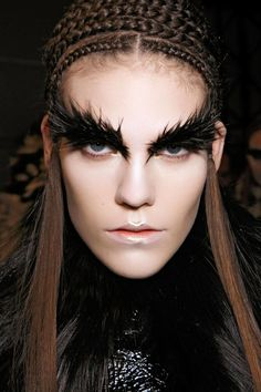 Halloween Makeup Inspiration From Runway | Alexander McQueen FW2014
