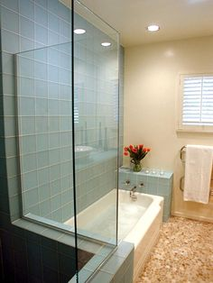 spa type bathrooms | Contemporary | Bathrooms : Designers' Portfolio : HGTV - Home & Garden ...