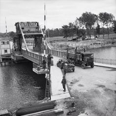 Pegasus Bridge Normandy June 6th this key bridge was captured and held as part of the D Day operation.