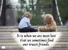 **Free Picture Downloads** www.penquote.com It is when we are most lost that we sometimes find our truest friends.