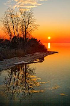 Great South Bay Sunrise - ID: 13196329 © Karen Celella