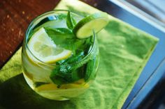 Always Order Dessert: Savory Cucumber Herb Sangria -- Food Blog and Recipes
