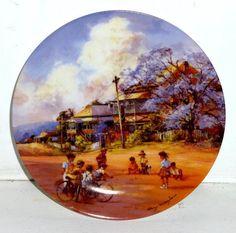 D'ARCY DOYLE (1932 - 2001), Limited Edition Ceramic, For Keeps.  Australian Artist.