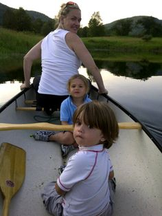 Donald Trump Jr's family enjoying a Holy Cow Canoe! Don't forget your PFD!!!!
