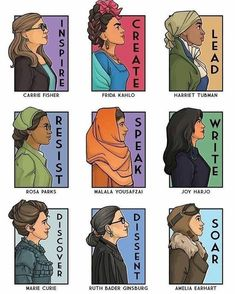 """Pure Wombman on Instagram: """"#womenempowerment #womeninbusiness #womeninbusiness #womensupportingwomen #she #her #create #inspire #lead #success #write  #soar #discover"""" Architecture Tattoo, Strong Marriage, Rosa Parks, Feminist Art, Classroom Posters, Before Us, Funny Art, Wedding Humor, Animal Design"""
