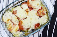 Kipfilet uit de oven met mozzarella, pesto en tomaat5