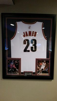 ryan sweeney ctownsweeney framedjerseys you framed up my lebron jersey for me