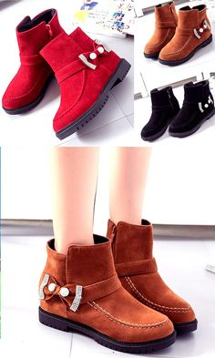 Buy 2017 New American Martin Boots Female Upset Cotton Student Boots Women Short Vintage Snow Boots for Christmas at Wish - Shopping Made Fun Latest Fashion Design, Martin Boots, Wish Shopping, Suede Boots, Snow Boots, Female, Yellow, American, Cotton