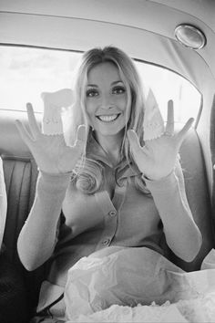 Sharon Tate, photographed by Terry O'Neill, 1969.