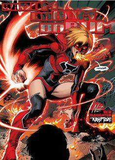 Supergirl Red Lantern By SilentArmageddon