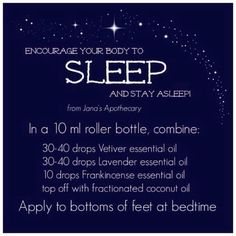 I love using young living essential oils for sleep issues. I have more DIYs on my Facebook page https://www.facebook.com/greensoulwellness