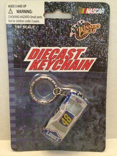 (TAS008986) - Winner's Circle Nascar 1:87 Scale Die-Cast Keychain - #48 Lowe's