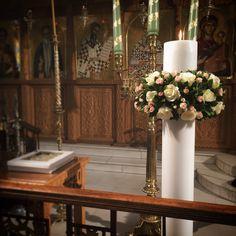 Wedding candle Greece