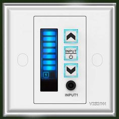 Vision 2015 Upgraded version of the popular and stereo Digital small wall amplifier. Audio Visual Installation, Display Screen, Plates On Wall, Digital