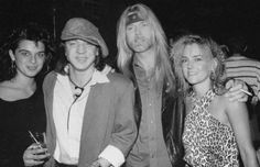 This goes out to Greg Allman who got his angel wings yesterday (5/27/17) He was 69...you will be sadly missed. RIP Brother...  Greg Allman with SRV and two women