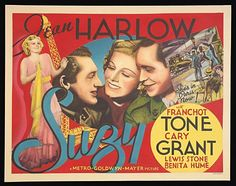 Jean Harlow, Cary Grant and Franchot Tone - Suzy, 1936