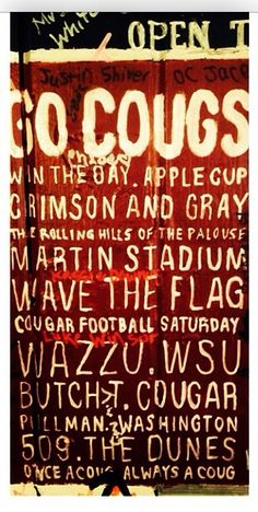 Washington State University Go Cougs