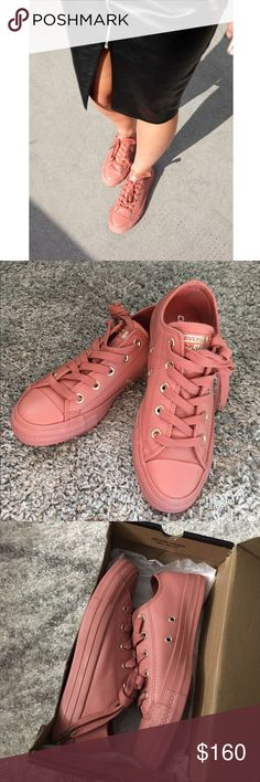 Converse Chuck Taylor CONVERSE x OFFICE. Holiday Nude Collection . Exclusively in UK. SOLD OUT. Brand new.   All Star Low Leather Color: Desert Sand light gold  UK 4 (US 6) Converse Shoes Sneakers