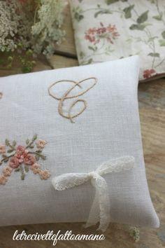 cuscino fedi - ring pillow