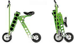 世界最小、最軽量の電動バイク「URB-E」―重さはなんと13キロ! - えん乗り