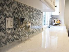 Love the mosaic! Traditional Kitchens from Principle Design and Construction on HGTV