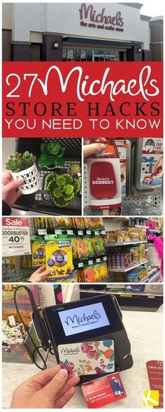 '27 Michaels Store Hacks You Need to Know...!' (via The Krazy Coupon Lady)