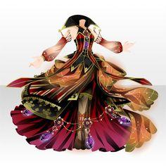 糸繰りソルシエール|@games -アットゲームズ- Anime Outfits, Dress Outfits, Cool Outfits, Dress Up, Fashion Art, Girl Fashion, Fashion Design, Anime Dress, Cocoppa Play