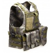 Devoted 1pcs Tactical Vest Black Large Military Special Forces Swat Hunting Vest Wargame Body Molle Armor Camouflage Outdoor Equipment To Make One Feel At Ease And Energetic Safety Clothing