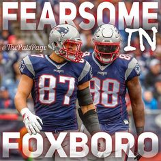Be patient #patsnation ... These two will be a MONSTER duo this season... Mark my words! #Patriots  #LetsGo  #MakeItReign