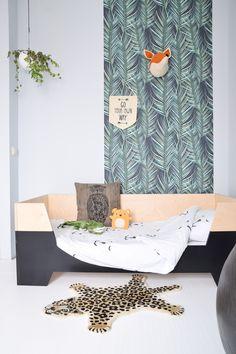 Graham & Brown wallpaper in the kidsroom Baby Bedroom, Kids Bedroom, Bedroom Ideas, Scandinavian Kids Rooms, Brown Wallpaper, Woodland Nursery Decor, Kids Decor, Home Decor, Decor Ideas
