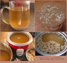 Korean Sweet Drink Sikhye by sierravalleygirl, via Flickr