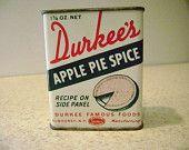 Durkee's Antique Spice Tin